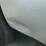 Paintless Dent Repair - Before