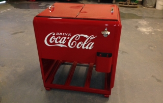 Coca Cola cooler restorations