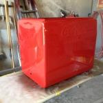 Coca Cola cooler restoration