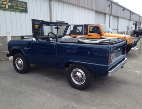 Full Paint Color Change on a Nantucket 1966 Bronco