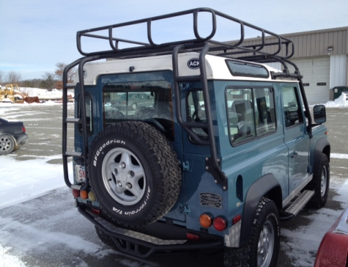 Nantucket Land Rover Refurbished