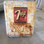 Antique 7-Up Cooler Restoration