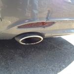Repairing a Rear Bumper Dent