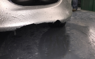 Before - Bumper Dent
