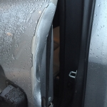 Before - Door Dent