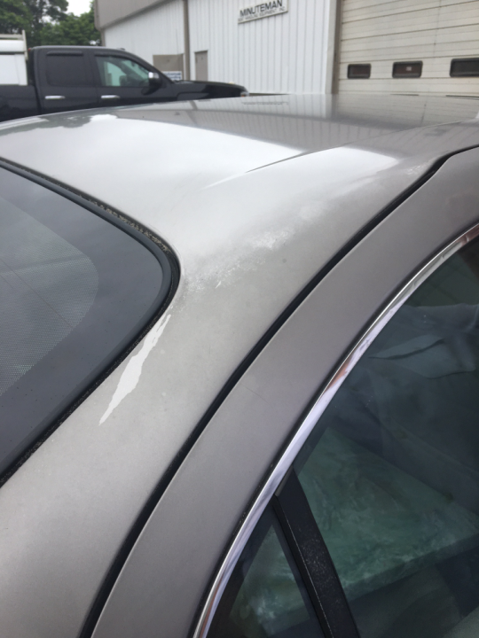 Peeling Paint on a Newly Purchased Used Car – MicroBlend