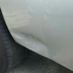 Paintless Dent Repair - Before