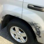 Scratch Repair - Before
