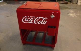 Coca Cola cooler restorations